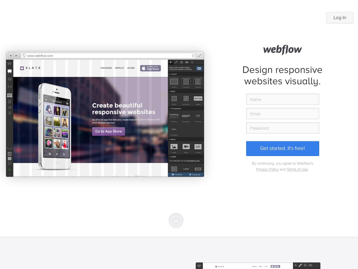flujo web