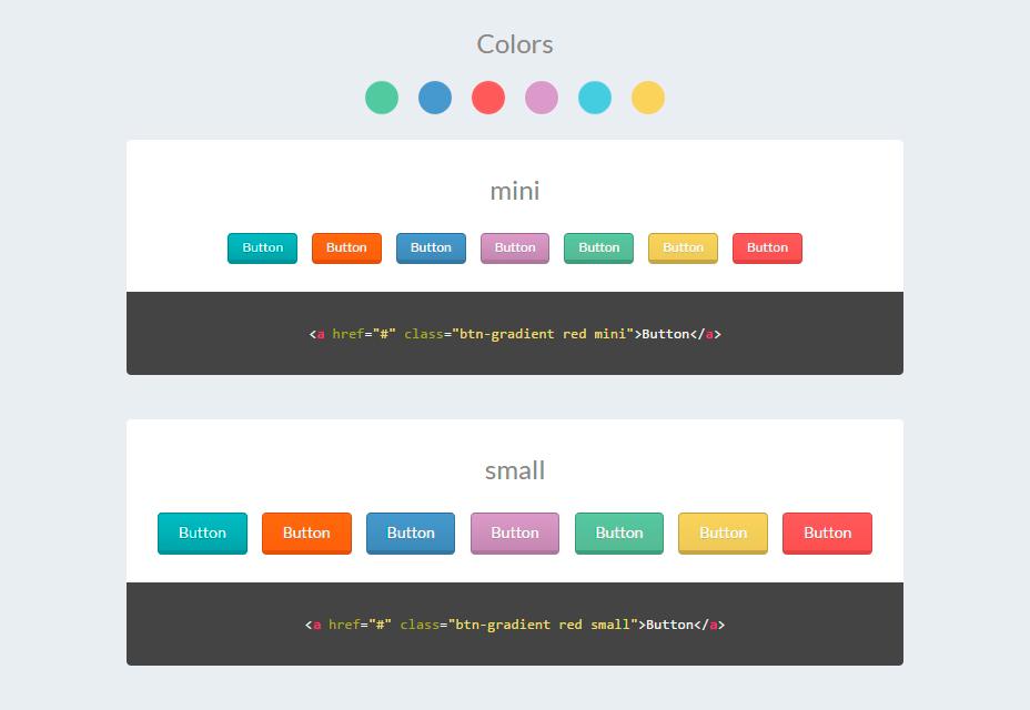 Más de 50 diseños de botones CSS