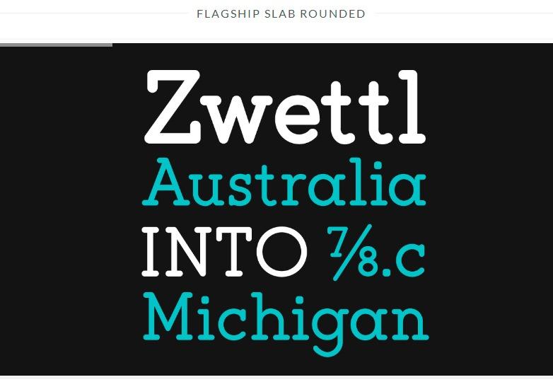 flagship font