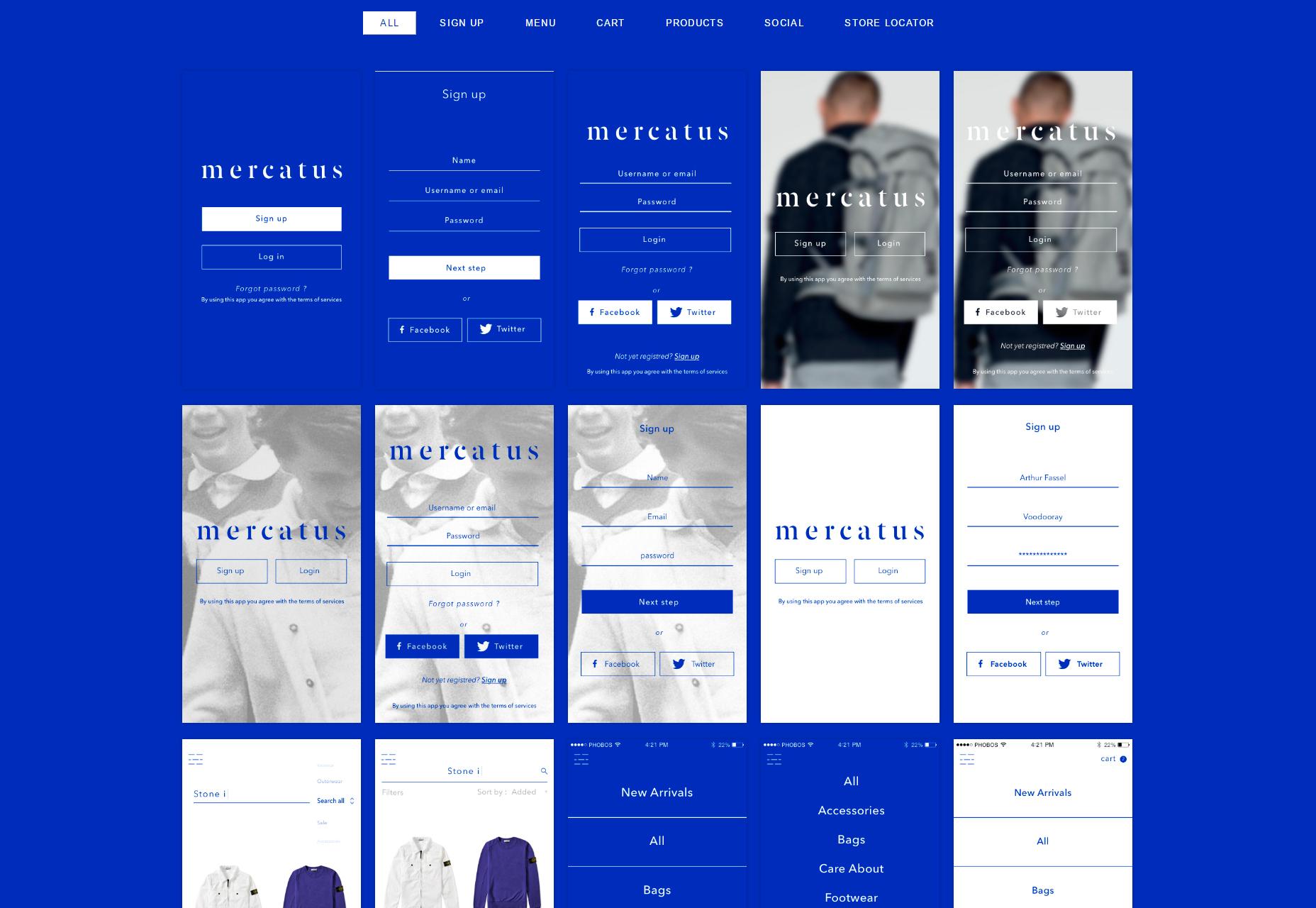 Mercatus: mobilní uživatelská sada MCommerce