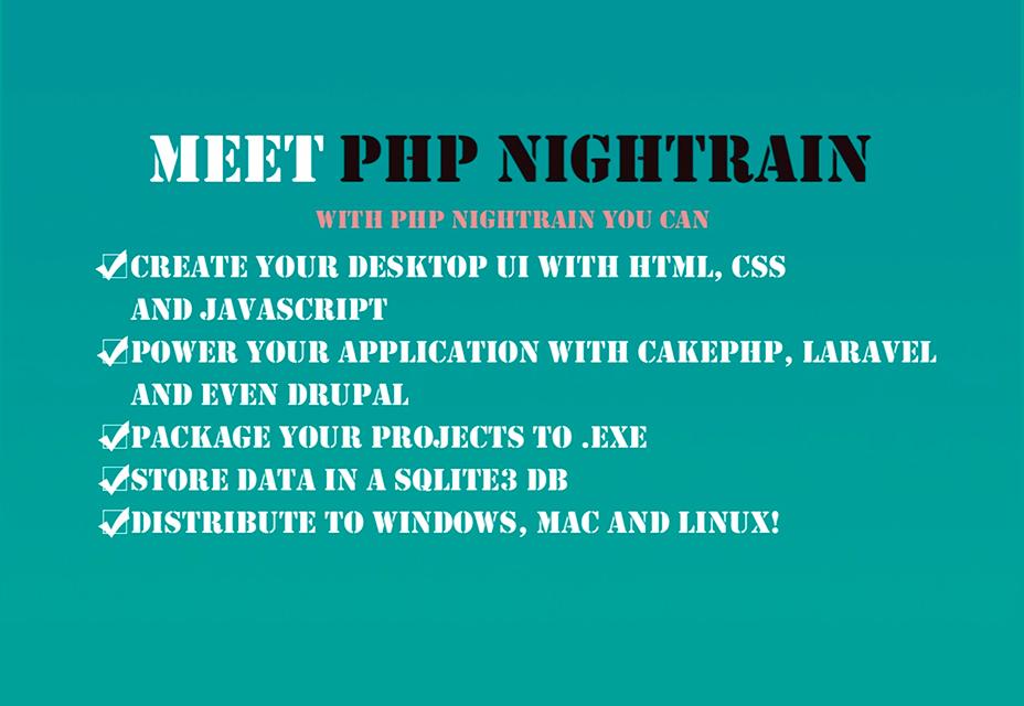 ¡Convierte tu aplicación web PHP a Windows, Mac y Linux!