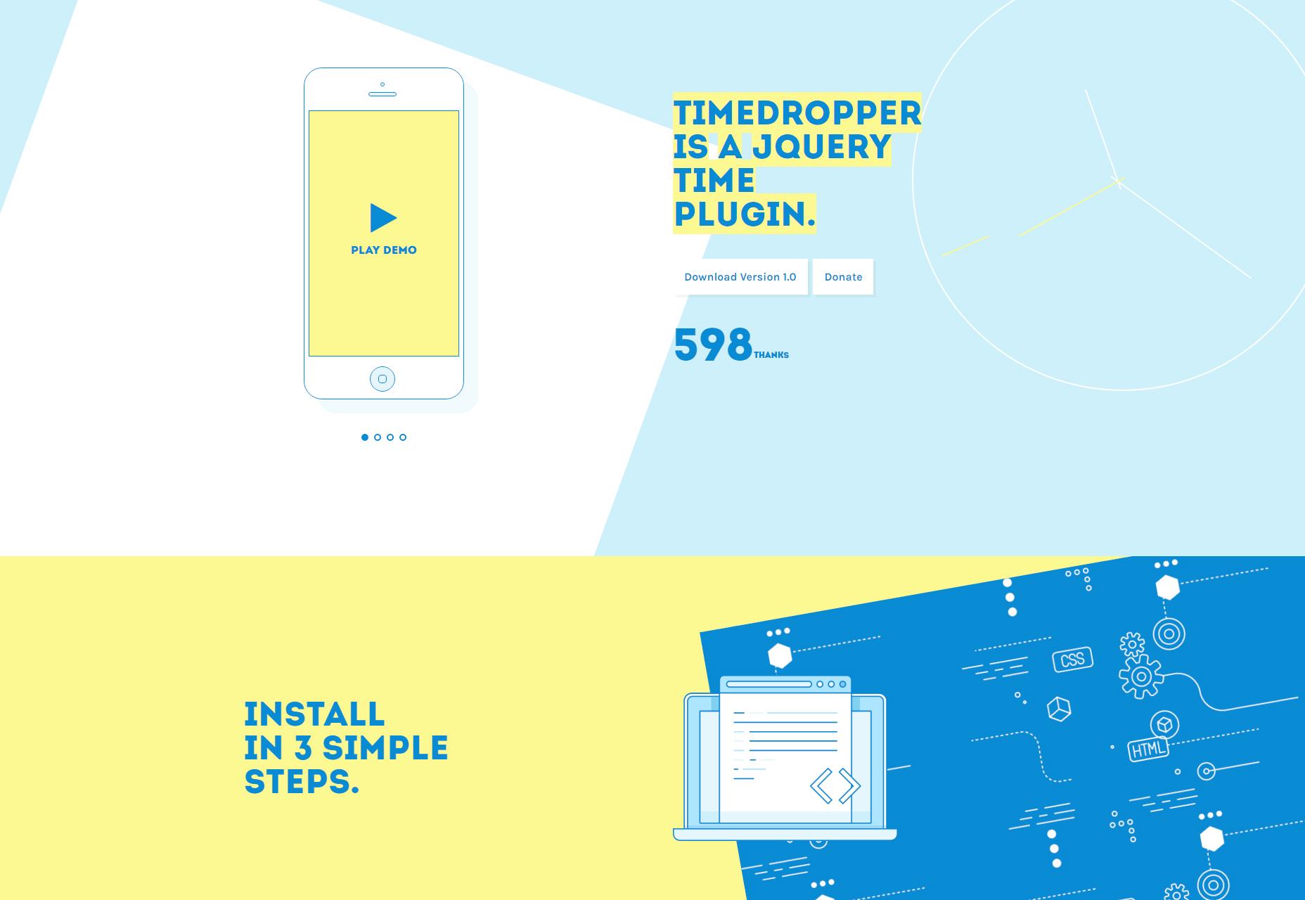 Timedropper: Kaunis jQuery Time Plugin