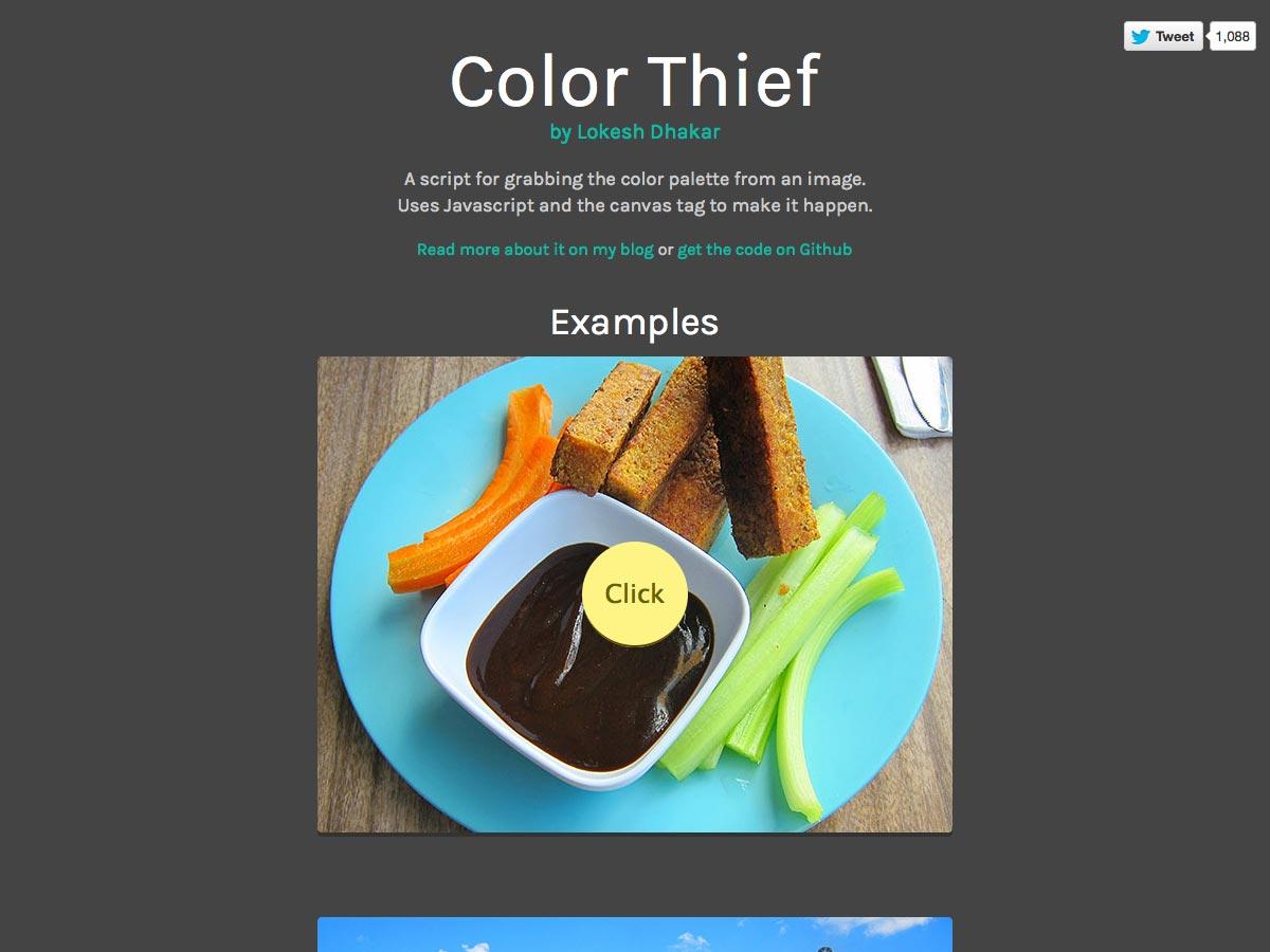 ladrón de color