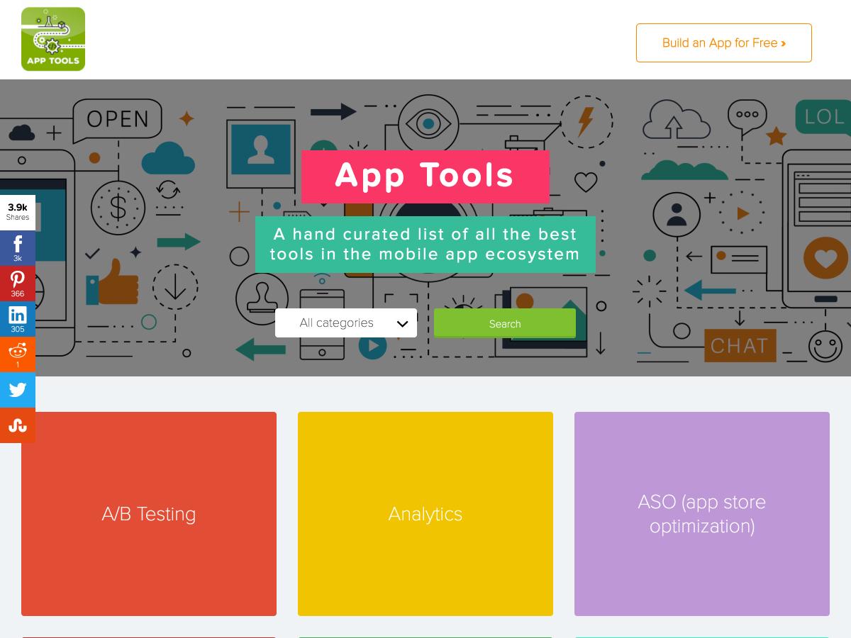 herramientas de aplicaciones