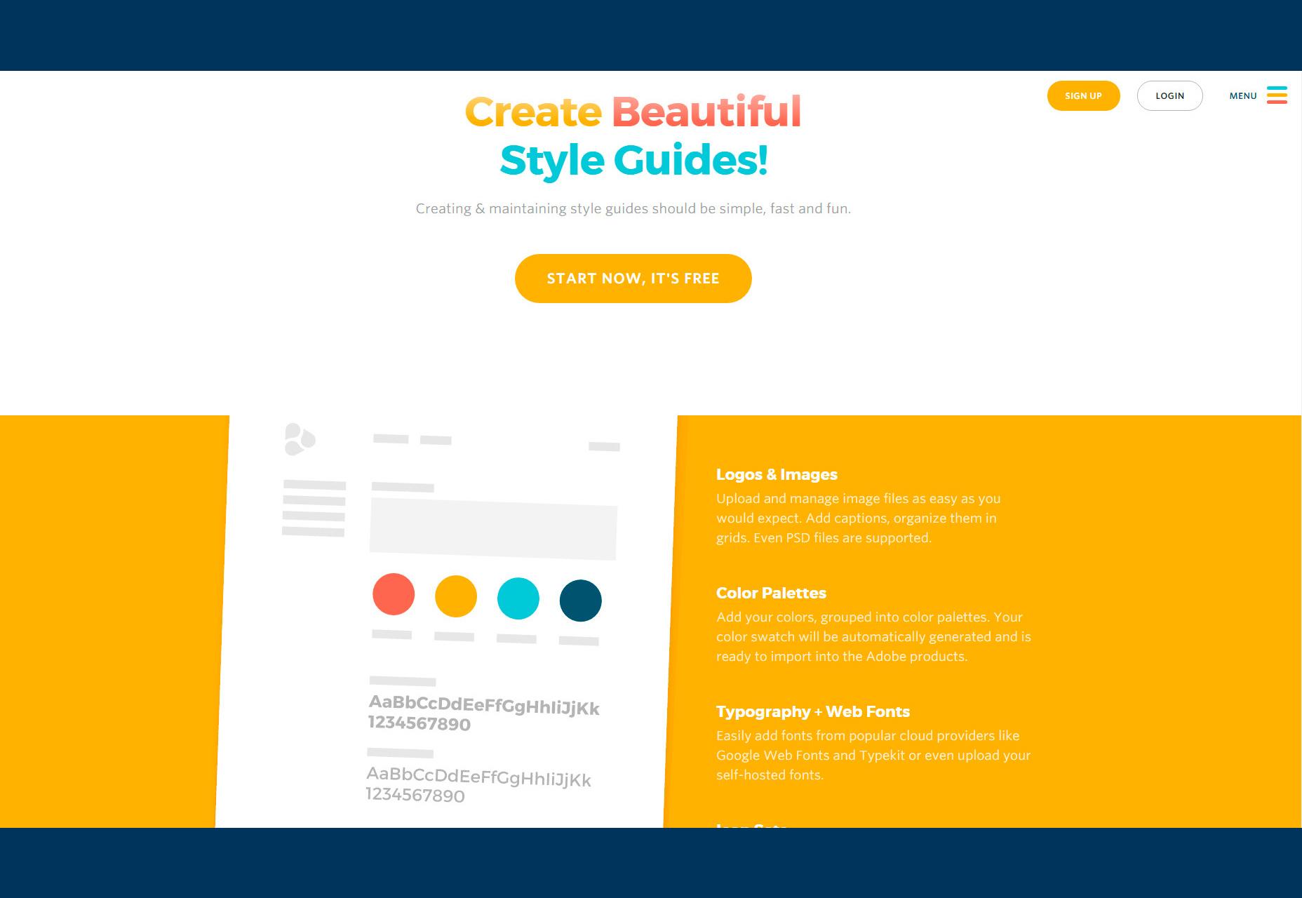 Frontify: Guías de estilo de marca y diseño