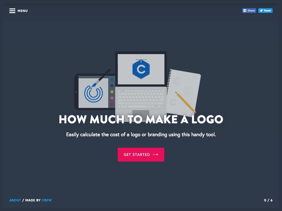 hoeveel een logo te maken