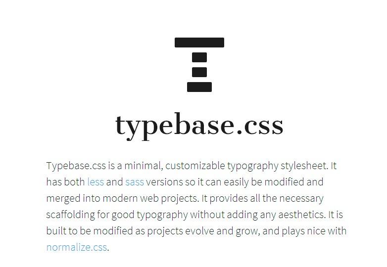 Typebase.CSS