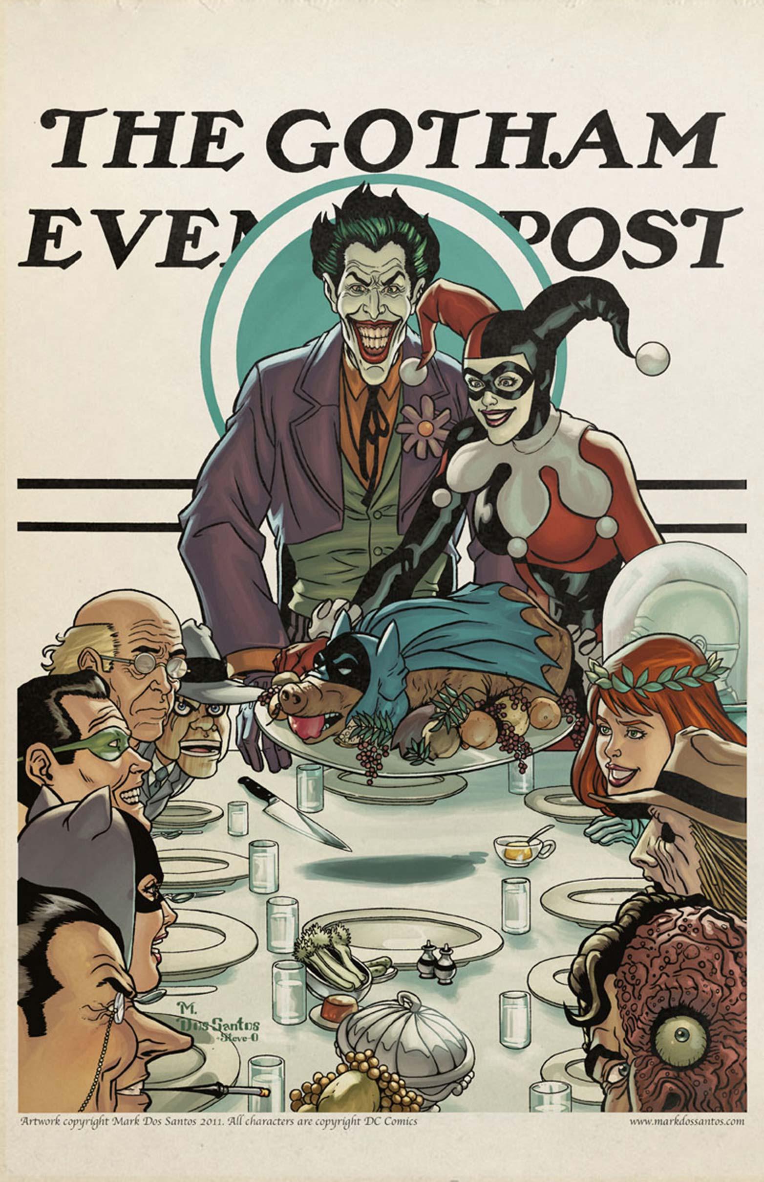 Joker's Thanksgiving
