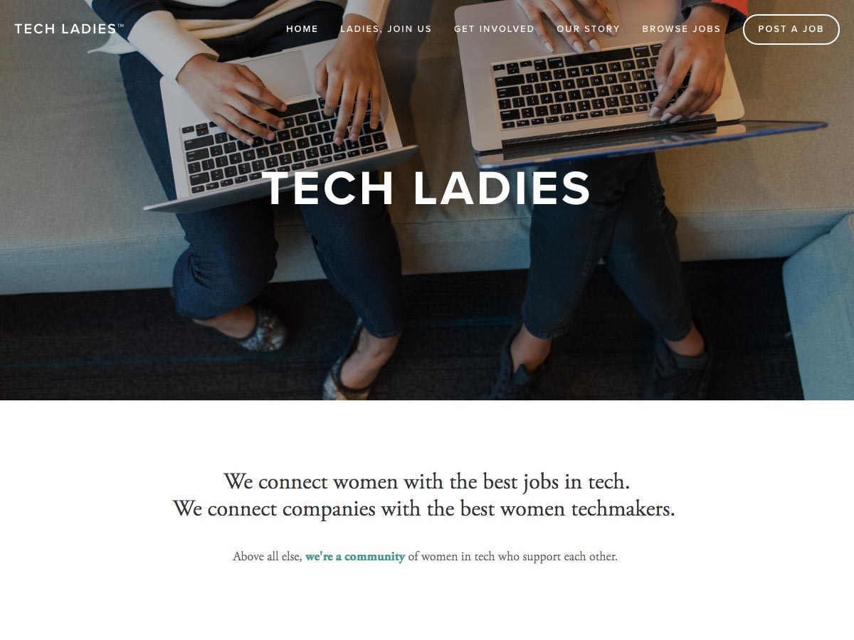 damas de tecnología