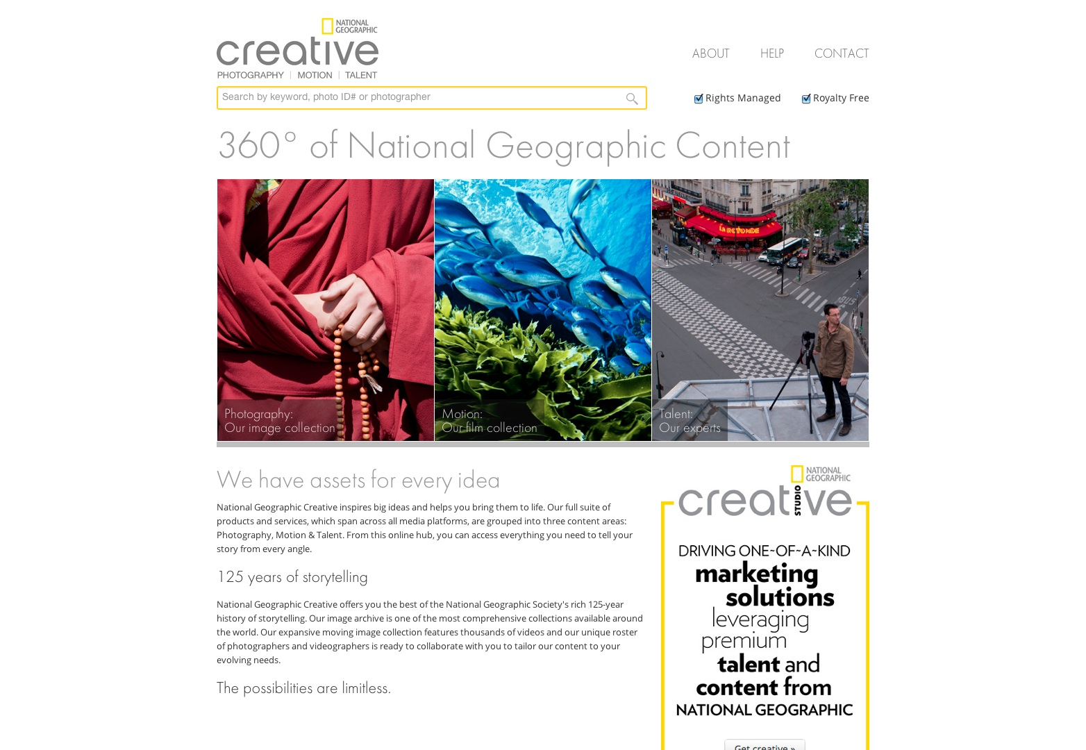 Stock Photography, imágenes sin royalties, movimiento y talento | National Geographic Creative