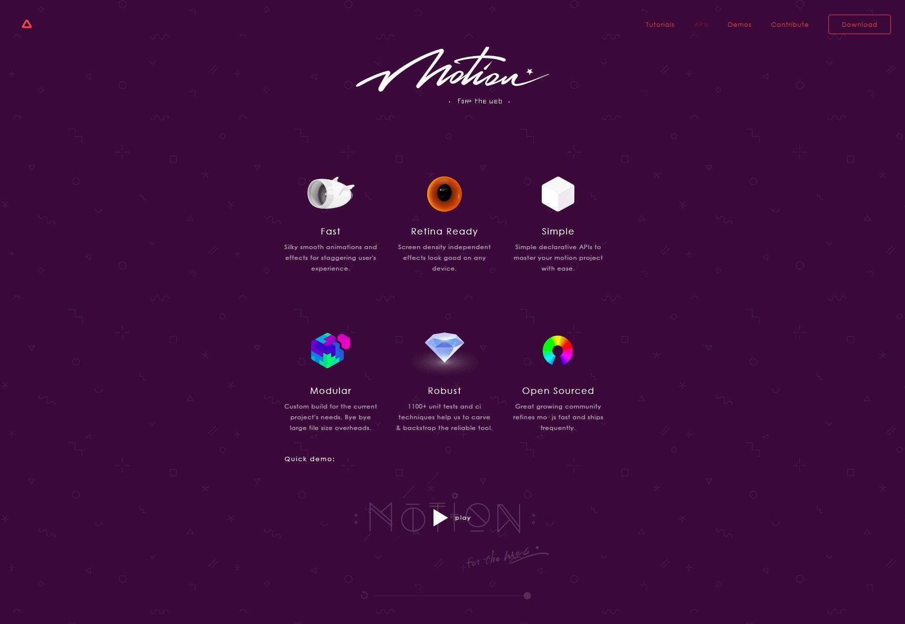 Mo.js: Motion Graphics para la Web