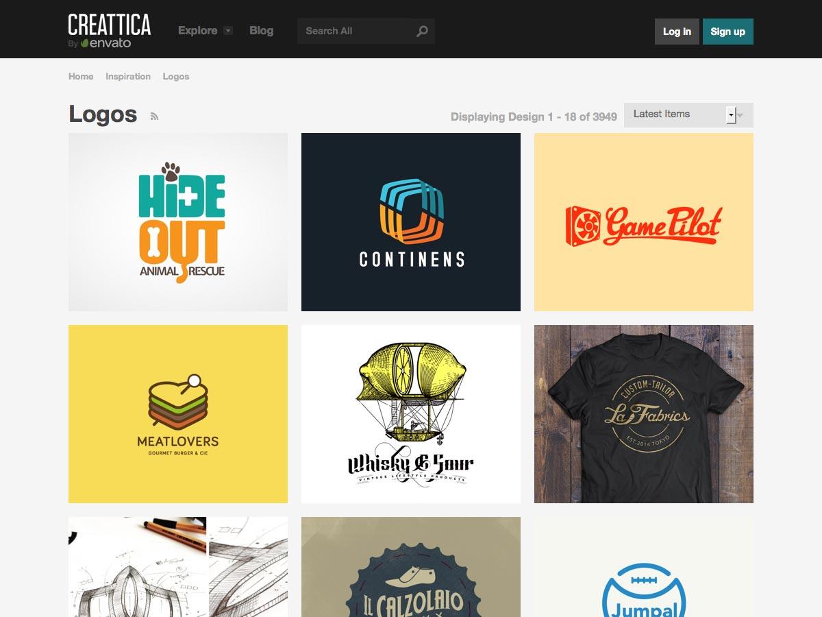 Logos en Creattica