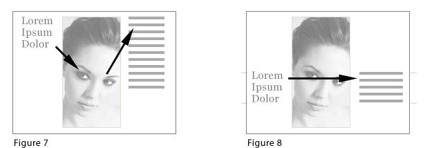 dirección de flujo en diseños