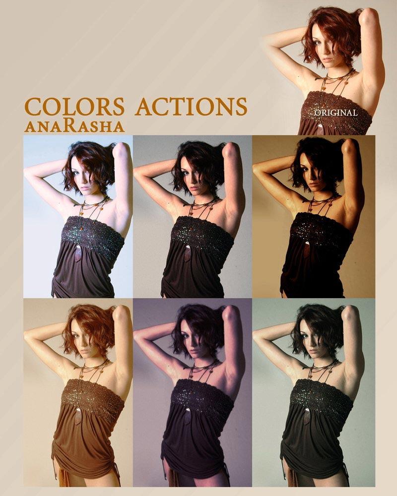 farger handlinger