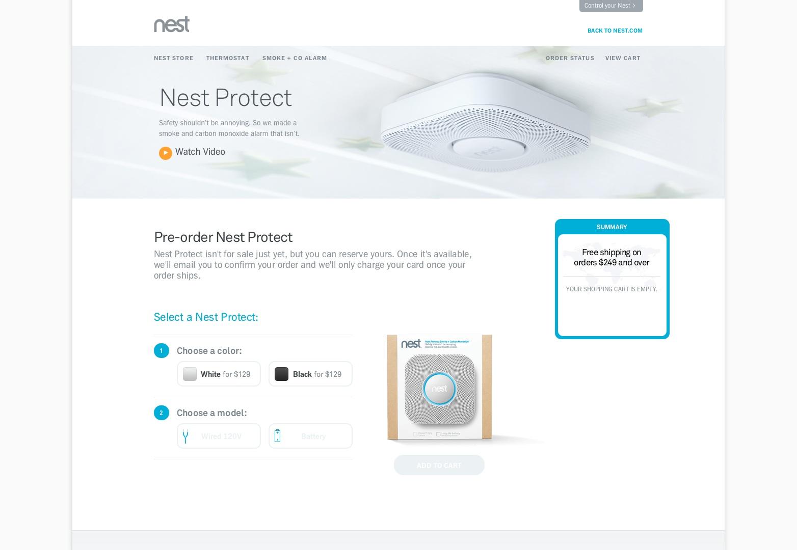 Nest Protect | Hnízdo