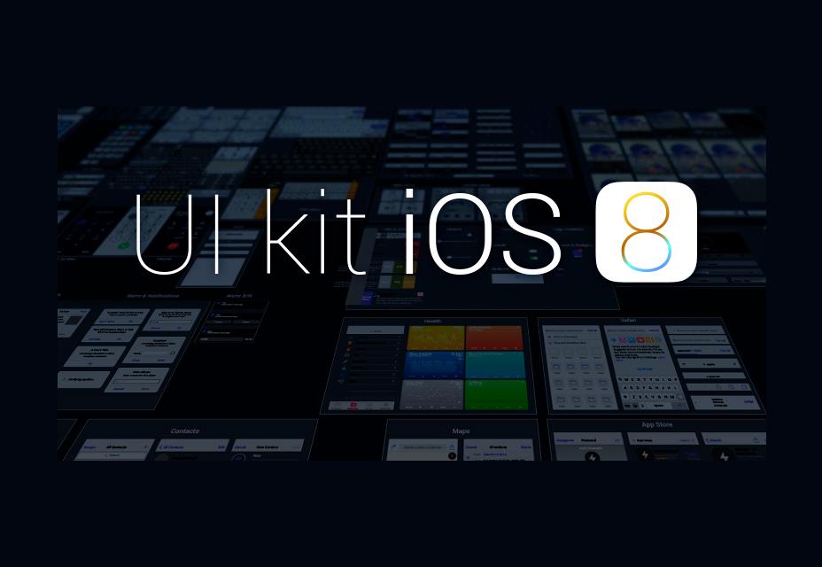 Kit de interfaz gráfica de usuario para iOS 8
