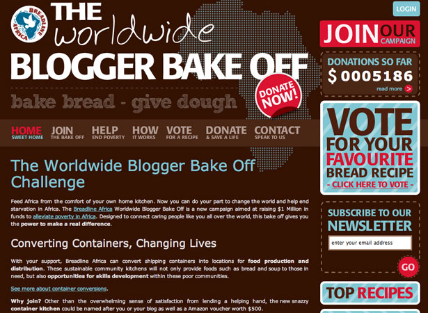 The World Blogger Bakeoff