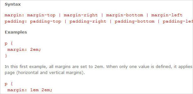 Taquigrafía CSS