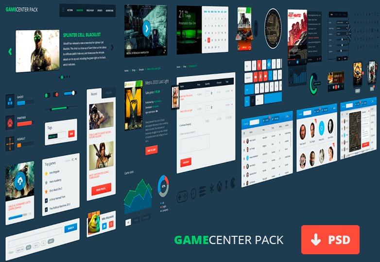 Gamecenter Pack Interface
