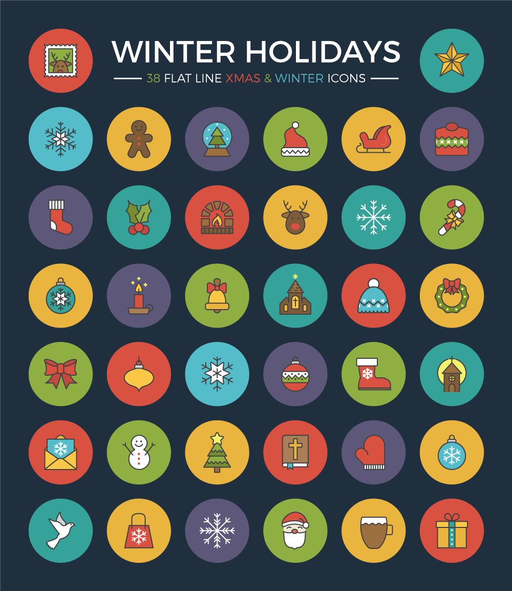 winter-holidays-flat-line-icon-set-preview