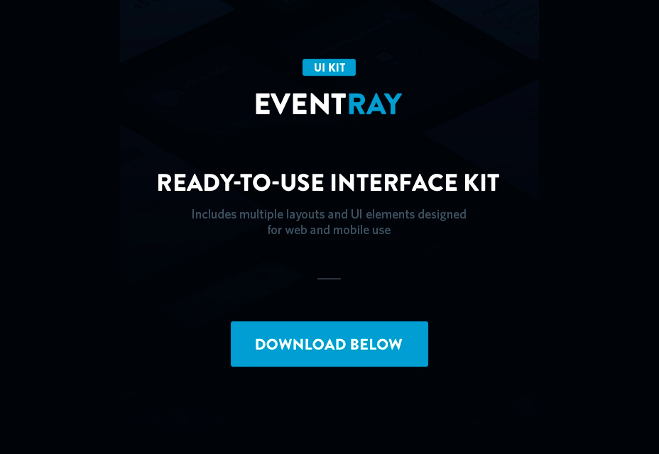 EventRay UI Design