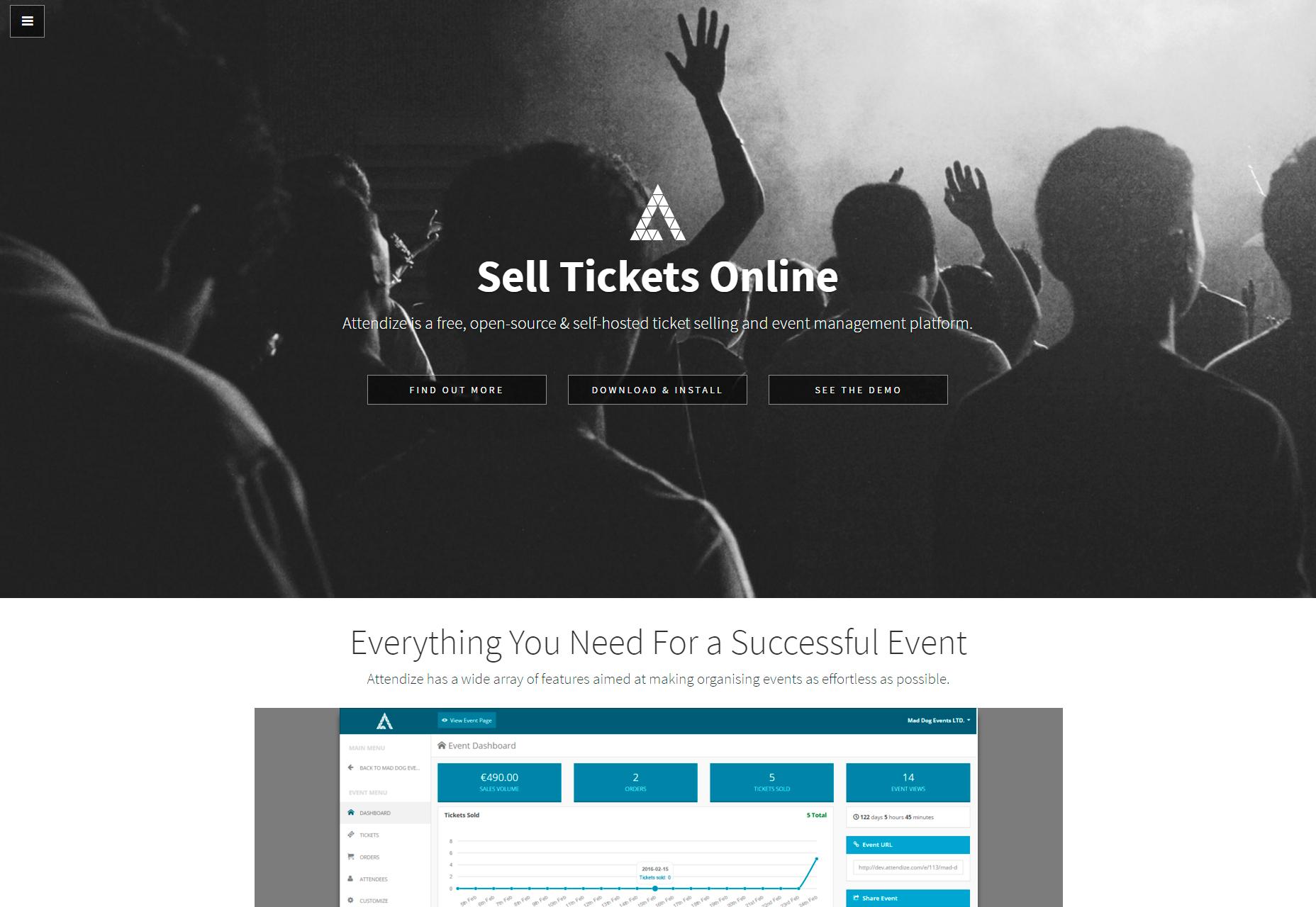 Asistir: plataforma de venta de entradas y eventos