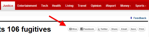 CNN.com share bar