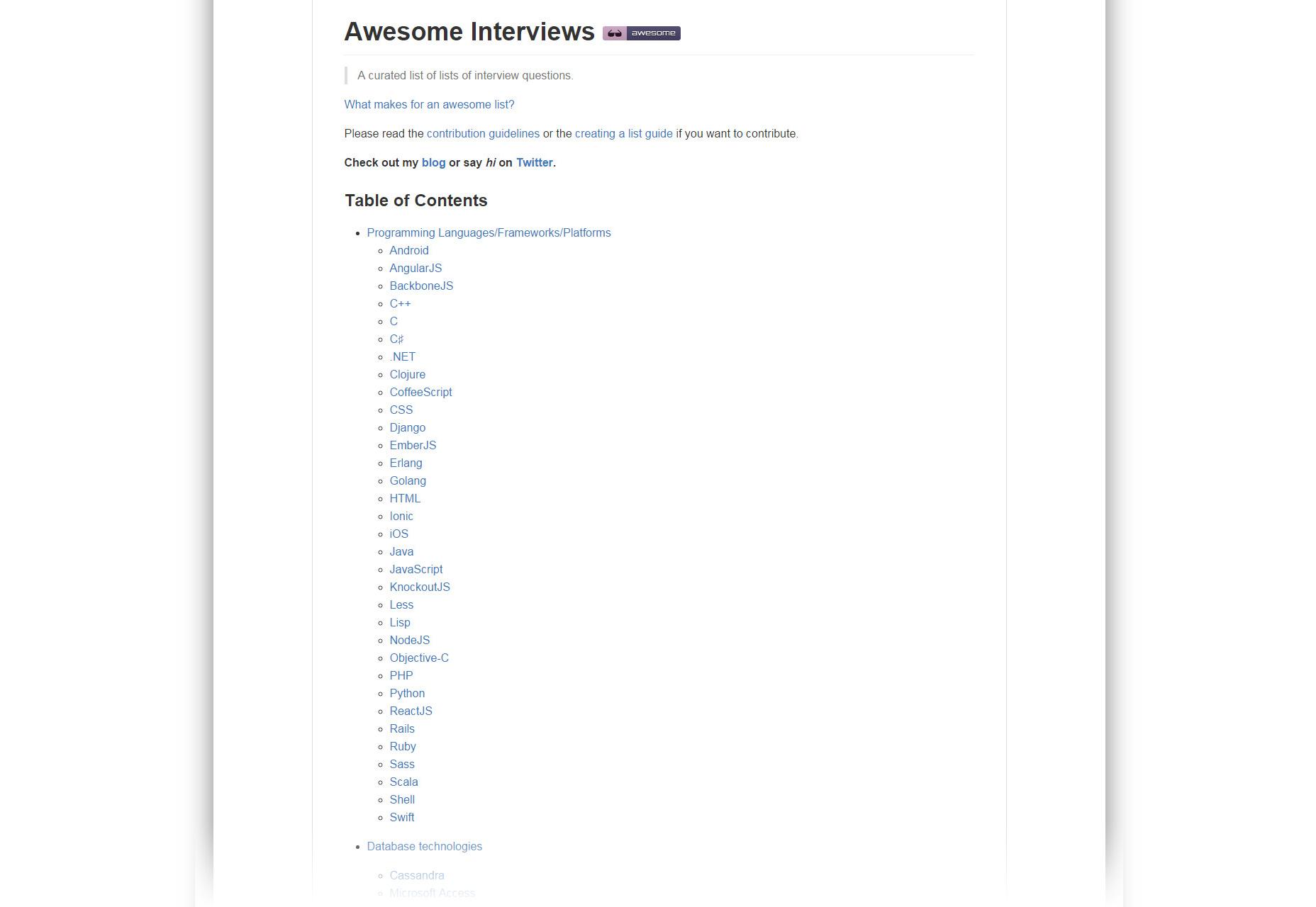 Entrevistas impresionantes: Colección de entrevistas de desarrollo de código abierto