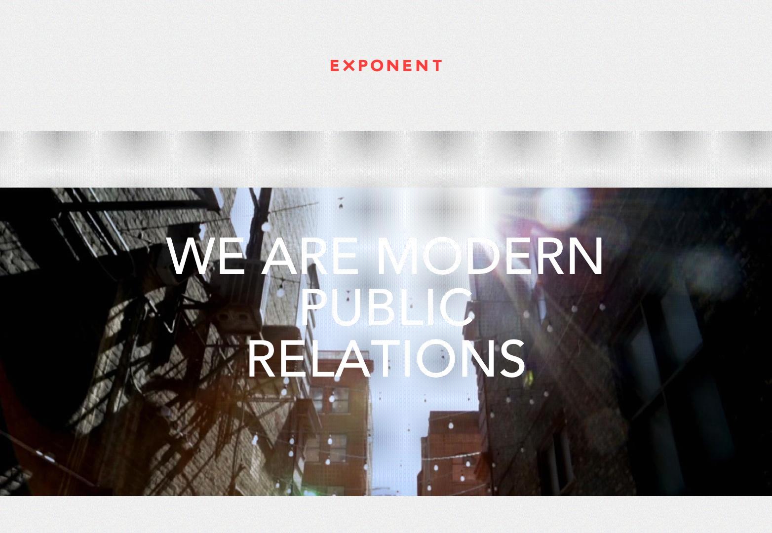 Exponente PR   Somos PR modernos