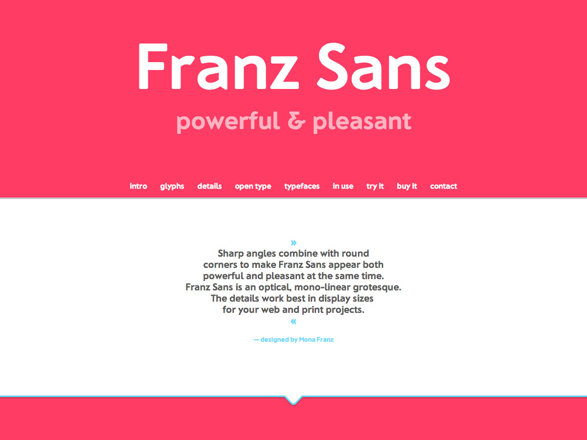 franz sans sitio de comercio electrónico