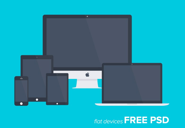 flat devices psd