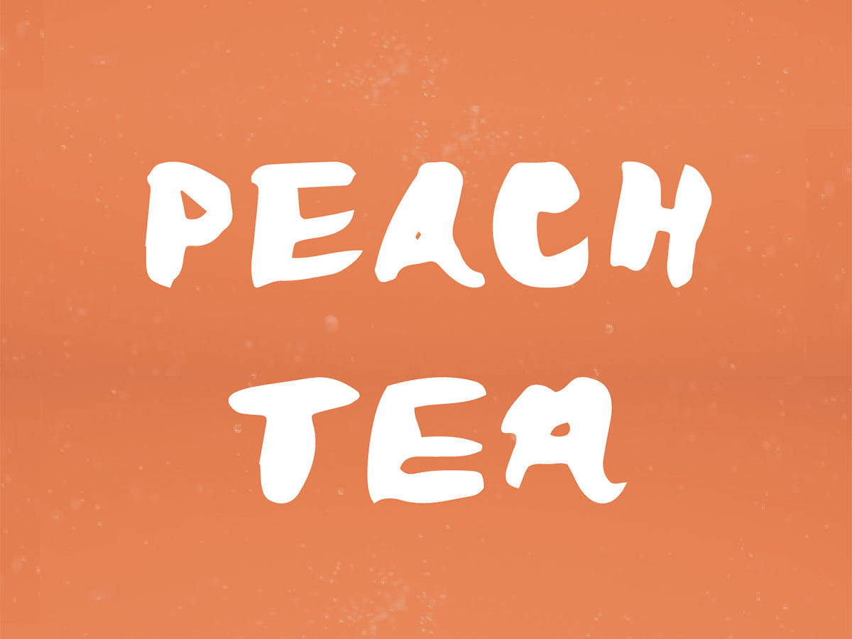 perzik thee