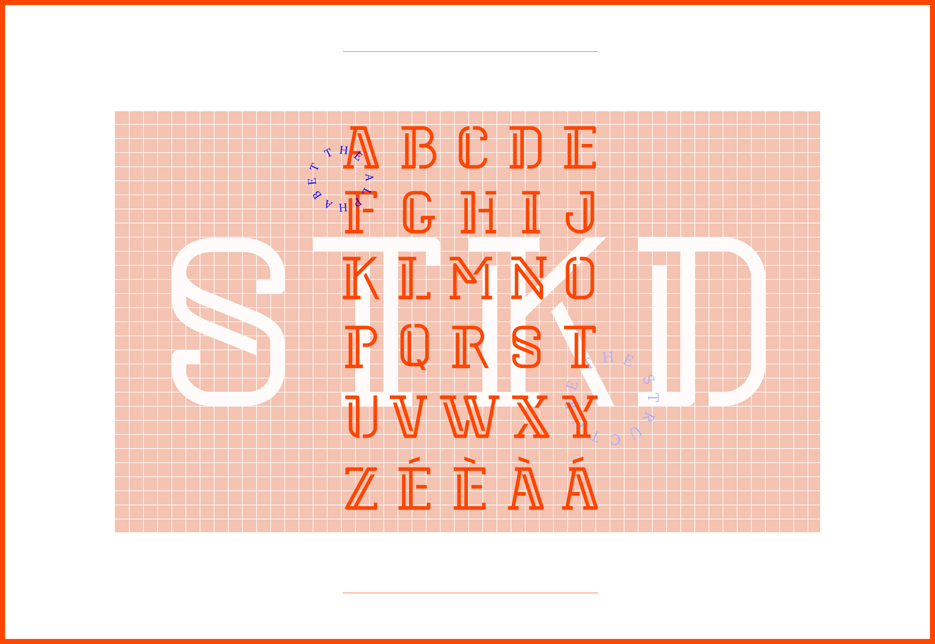 Stoked: Side Offset Featured Typeface