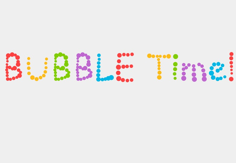Bubble time CSS