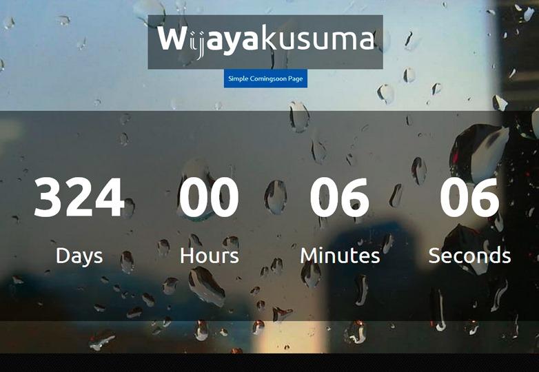 Wijayakusuma HTML template