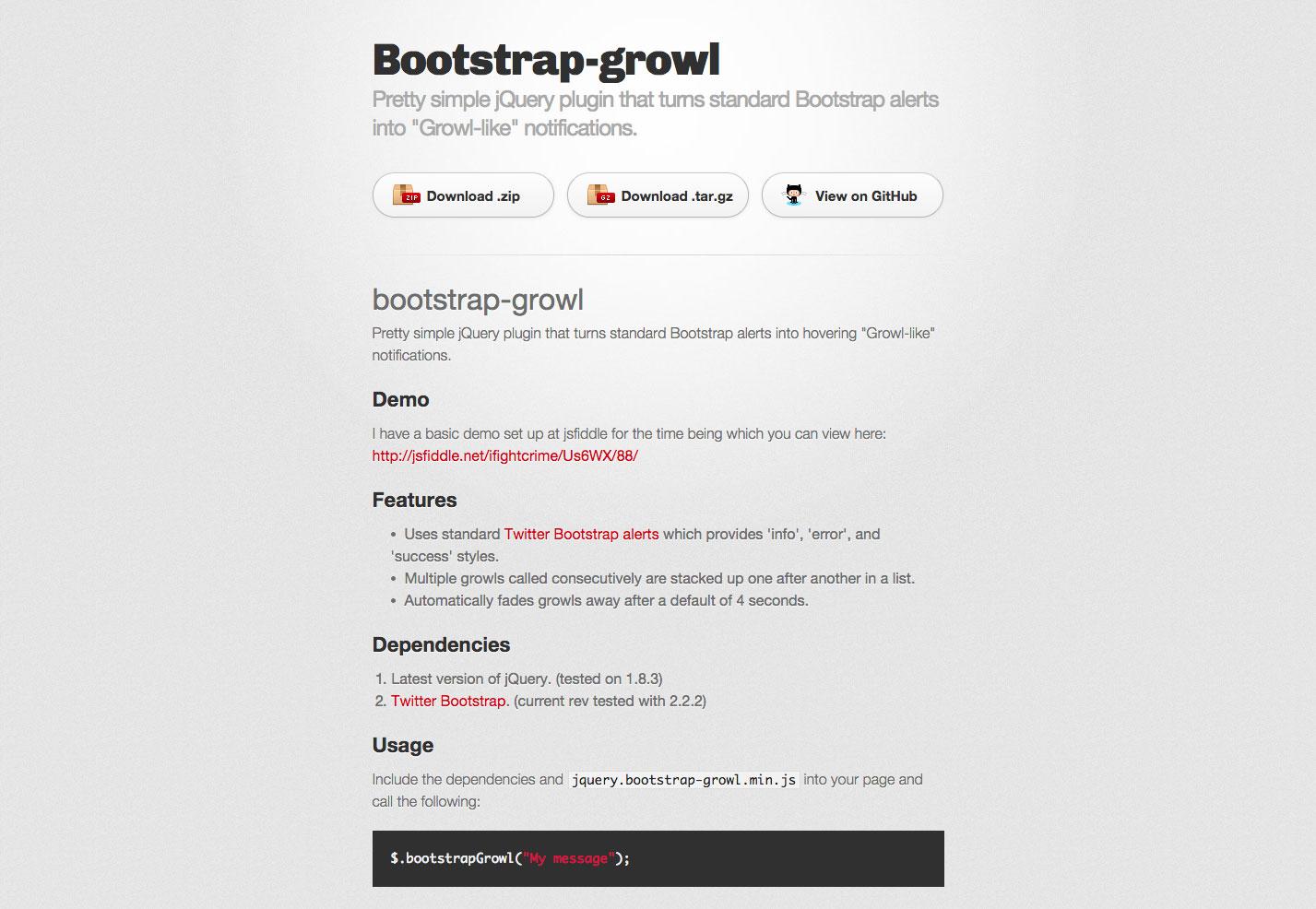 bootstrap grommen