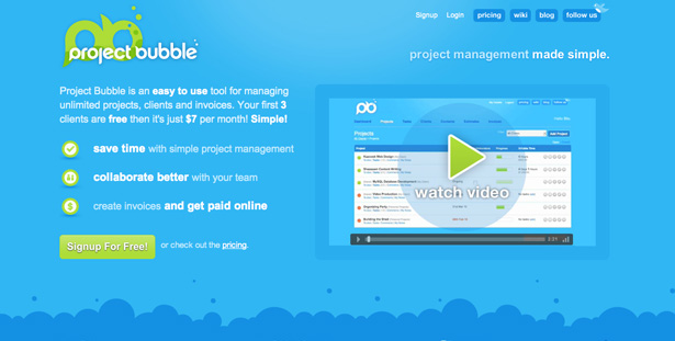 Proyecto Bubble
