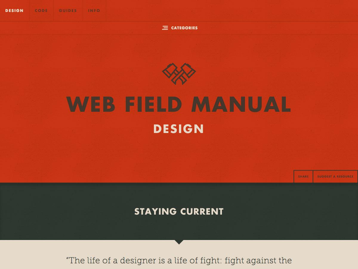 manual de campo web