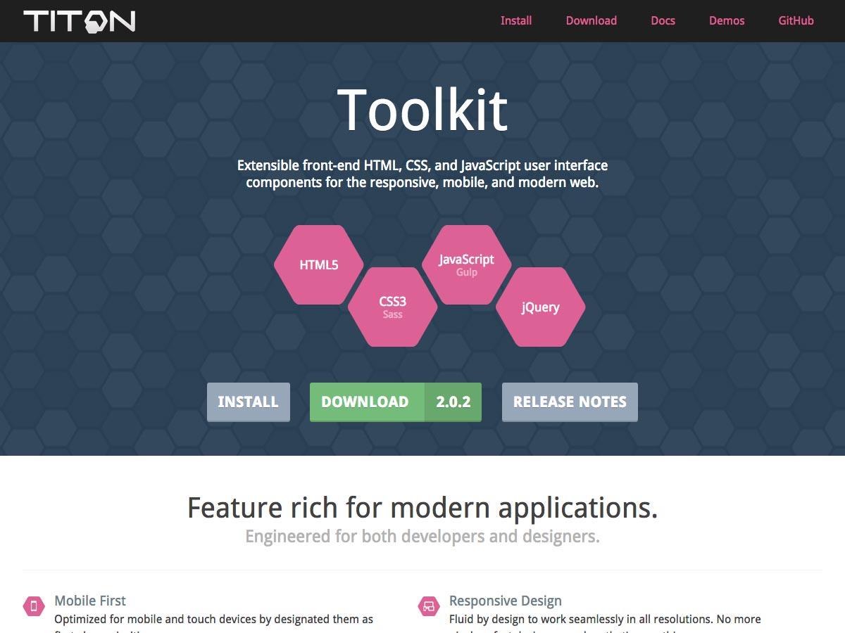 titon toolkit