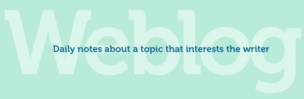 título genérico del blog en inofensivo verde menta