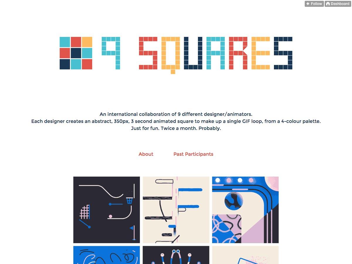 9 vierkanten