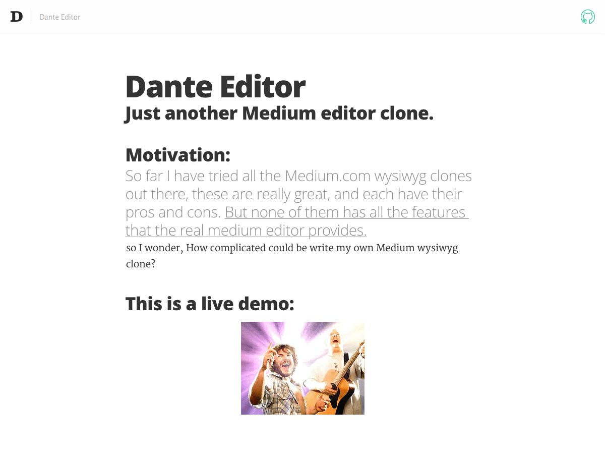 editor dante
