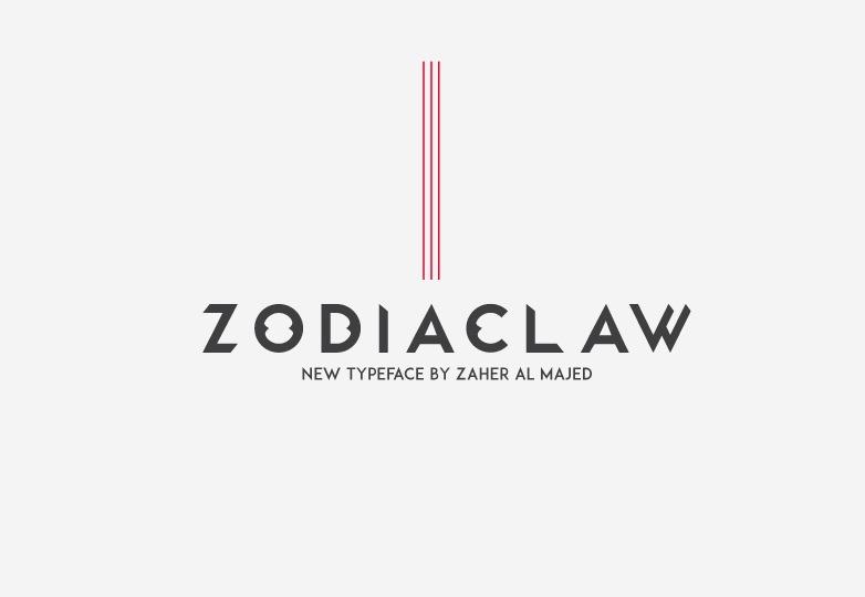 zodiaclaw-free-font