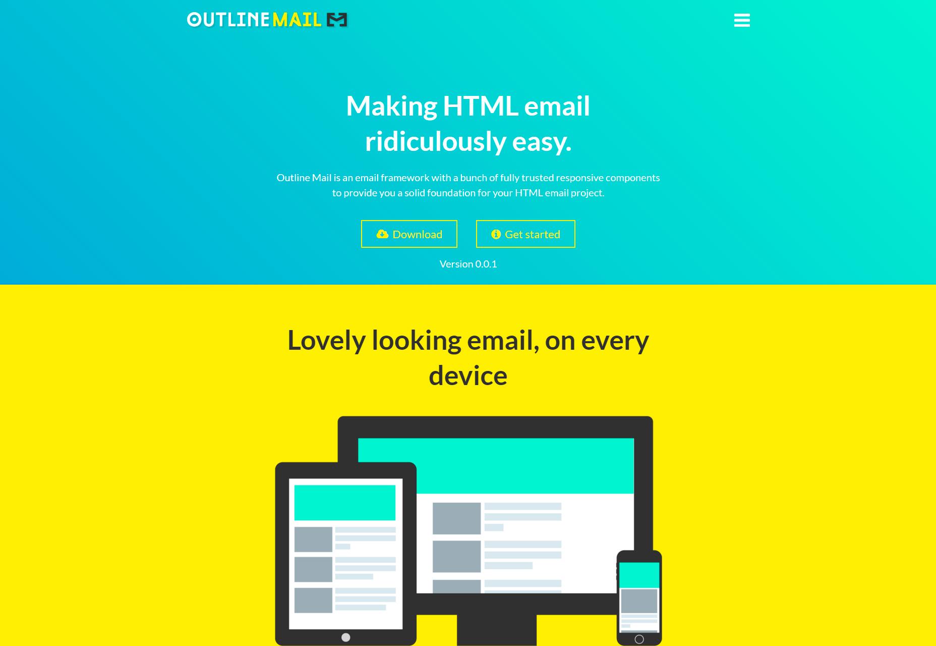 Correo de contorno: Plantillas de correo electrónico HTML fáciles