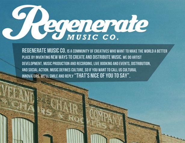 Regenerate Music co