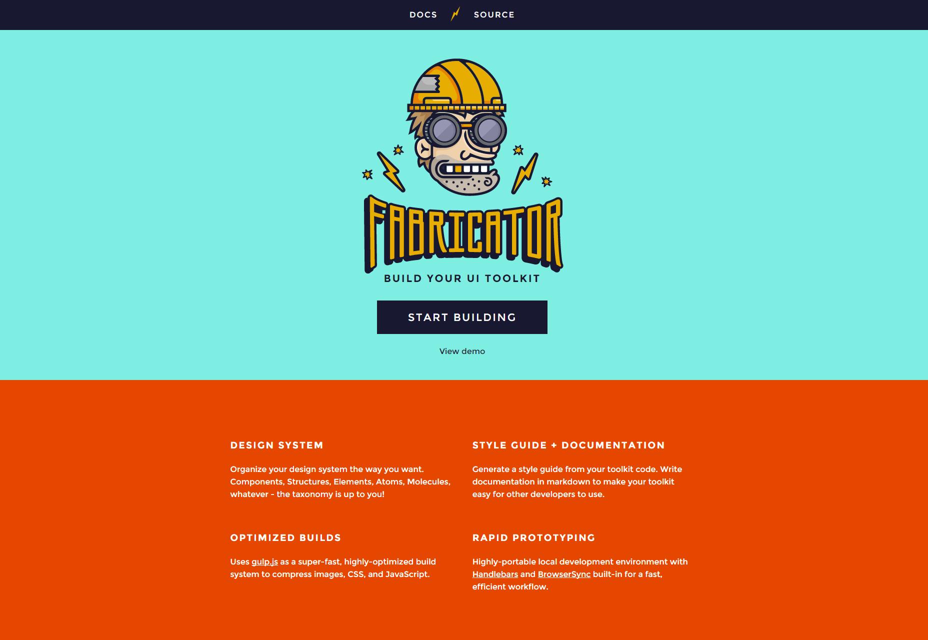 Constructor: NodeJS UI Toolkit Builder