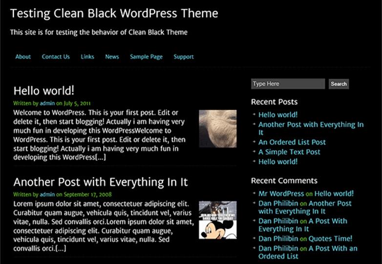 negro limpio