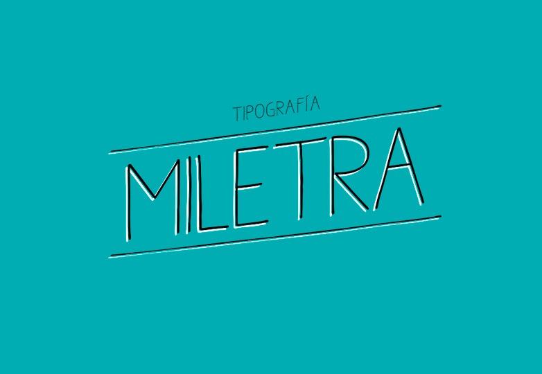 Miletra Handwritten font