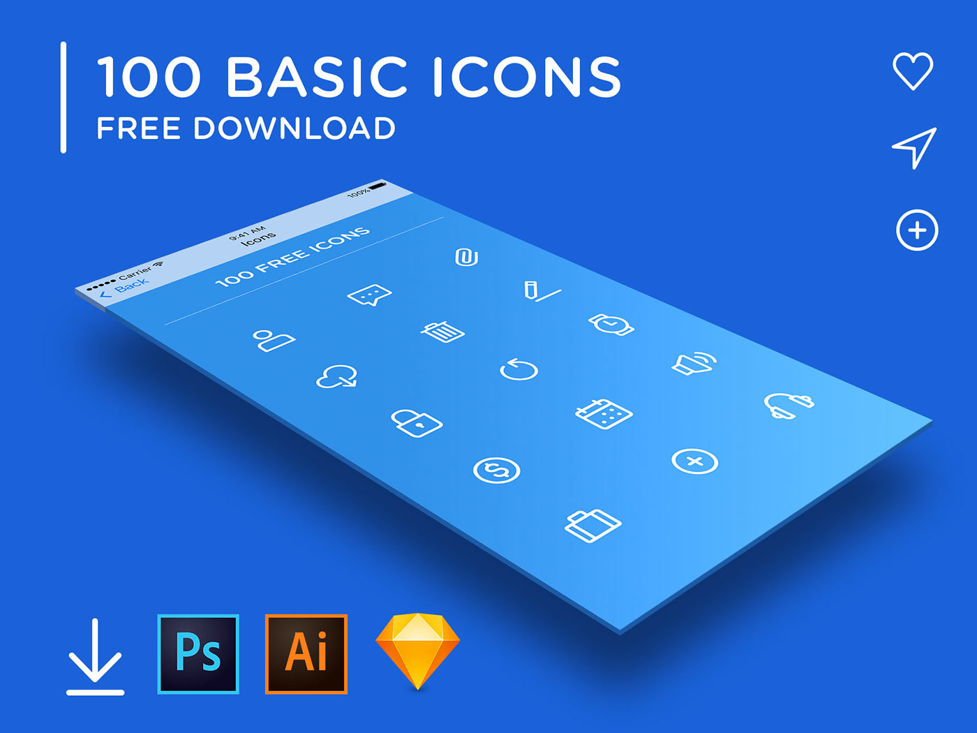 100 ikon
