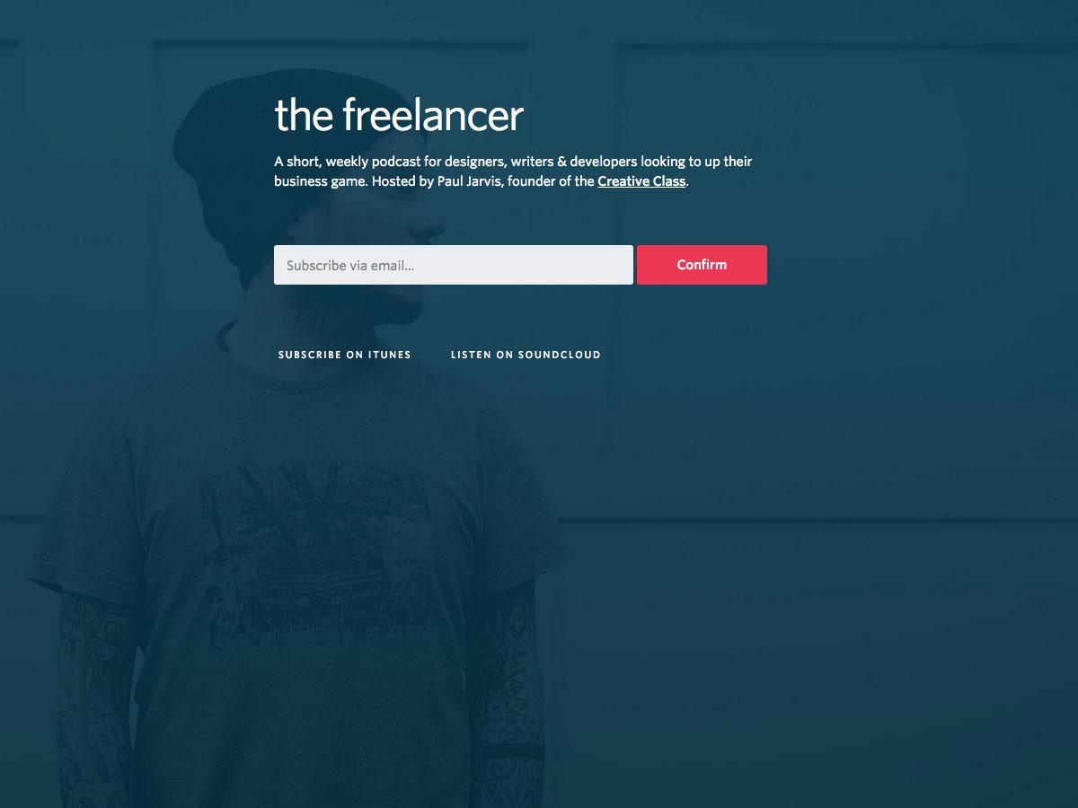 De freelancer-podcast